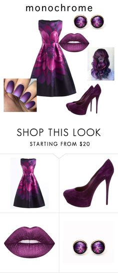"""Untitled #49"" by ava-r-johnson ❤ liked on Polyvore featuring Casadei and Lime Crime"