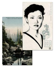 Почтовая открытка Джози Пэккард