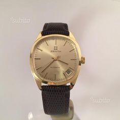 Zenith oro 18k automatico orologio originale - Abbigliamento e Accessori In vendita a Firenze