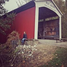 Beautiful Indiana Fall Scenery at the Parke County Covered Bridge Festival