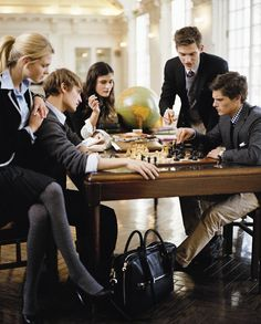Now the cools kids at school play chess.