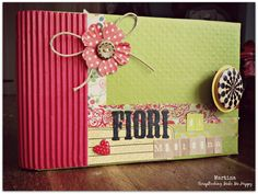 Mini-album by Martina www.scrap-booking.it https://www.facebook.com/scrapbooking.make.happy