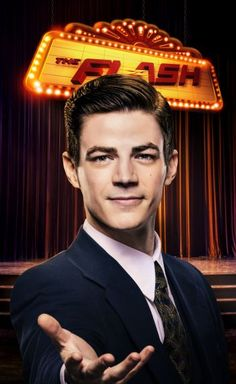 Grant Gustin as Barry Allen (a.k.a. The Flash) episode 3x17 promo
