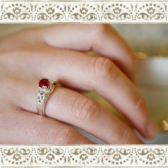 Madagascan Ruby Genuine Round Cut 1.30 carats by salonpetite, $120.00