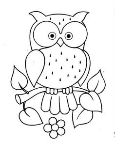 Cute Owl Coloring Pages Labels coloring pages Freebie