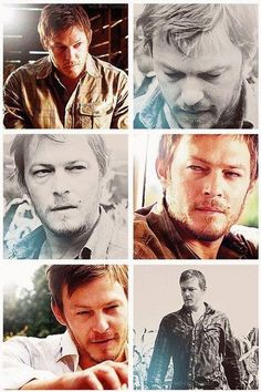 More young scruffy Reedus