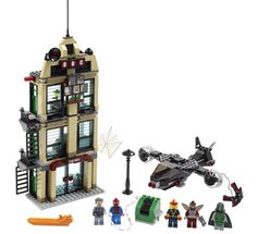 LEGO will be revealing the new LEGO Marvel Super Heroes Spider-Man: Daily Bugle Showdown at New York Comic Con Spiderman, Lego Toys, Lego Lego, Buy Lego, The Dark Knight Rises, Lone Ranger, Man Set, Marvel Series, Building Toys