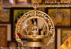 Panchloha Laxmi Hanging Lamp.