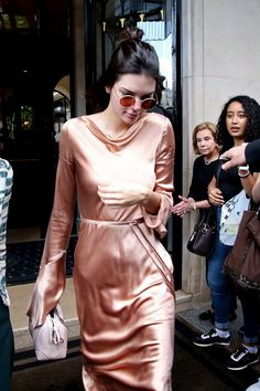 Pin for Later: If You're Still Not Sure About the Slip Dress, Kendall Jenner Has the Solution
