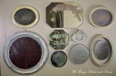 acid wash vintage mirrors!!! tutiorial