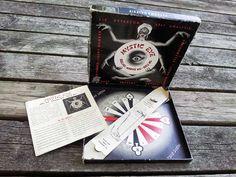 A rare, original Mystic Eye 1953 divination board game  http://www.etsy.com/listing/154444494/mystic-eye-1953-divination-game