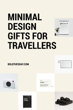 Gifts every traveller will truly love. 2018 Christmas Gifts, Christmas Gift Guide, Christmas Shopping, Best Travel Gifts, Minimal Design, Minimalist Design