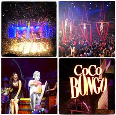 Coco Bongo nightclub Playa Del Carmen, Mexico..........out of this world experience!!