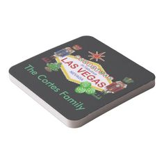 Las Vegas PERSONALIZED Christmas Coasters