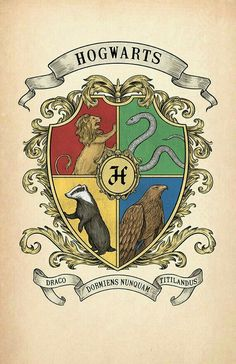Items similar to Hogwarts Crest Print on Etsy Harry Potter Anime, Cumpleaños Harry Potter, Harry Potter Drawings, Harry Potter Houses, Harry Potter Birthday, Harry Potter Universal, Rowling Harry Potter, Estilo Harry Potter, Mundo Harry Potter