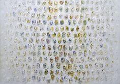 Study for a Thousand Heads by Louis le Brocquy Amazing Artwork, Cool Artwork, Irish Painters, Painter Artist, Irish Art, Inspiring Art, My Arts, Faces, Study