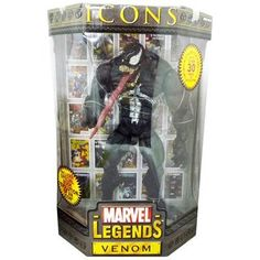Marvel Legend TOYBIZ ICONS Venom Venom 12 inches new SpiderMan Action Figure Hot Toys HOTTOYS Avengers japan import * You can get additional details at the image link. (This is an affiliate link) #MarvelActionFigures