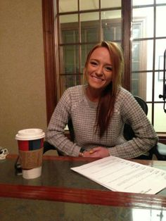 Maci Bookout. One of my fav mom's from Teen Mom.