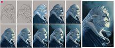 Processo creativo Creatura Marina by Michele Livrieri