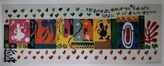 "My favorite Matisse. Henri Matisse, ""The Thousand and One Nights,"" 1950 -- cut out paper Henri Matisse, Matisse Kunst, Matisse Art, Carnegie Museum Of Art, Art Museum, Gouache, Matisse Cutouts, Social Art, Frames For Canvas Paintings"
