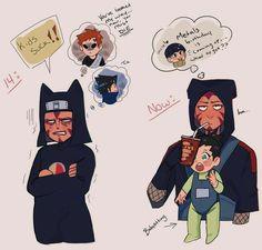 Naruto Comic, Naruto Cute, Naruto Shippuden Anime, Naruto Uzumaki, Anime Naruto, Boruto, Gaara, Shikamaru And Temari, Naruto Family