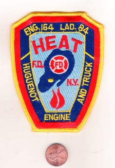 FIRE PATCH FDNY NEW YORK CITY ENGINE 164 LADDER 84