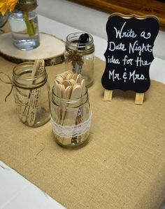 Wedding / Bridal ahower games. Mr and mrs date night ideas.