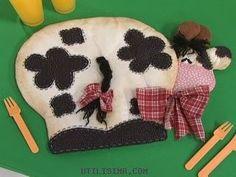 Resultado de imagen para vacas en tela alejandra sandes