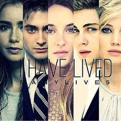Mortal Instruments, Harry Potter, Divergent, Percy Jackson, the Hunger Games