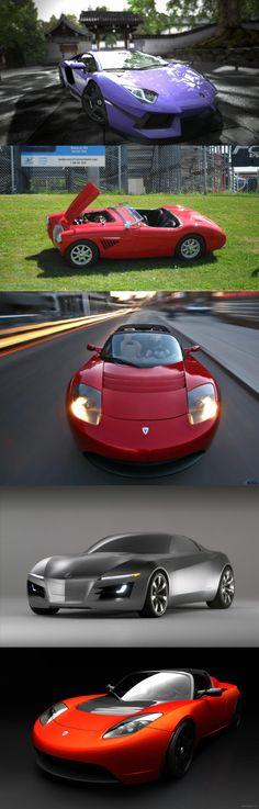 Tesla Roadster Sports Car