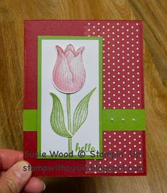 Stamp with Susie: Simple Saturday! Birthday Cards For Boys, Making Greeting Cards, Mothers Day Cards, Scrapbook Cards, Scrapbooking, Spring Crafts, Flower Cards, Homemade Cards, Stampin Up Cards