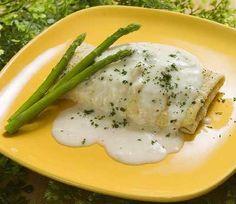 Receta de Pollo a la salsa de yogur de dificultad Media para 4 personas lista en 30 minutos.