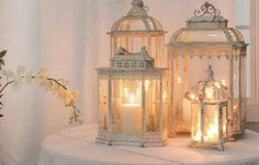 love candles & bird cages now thats a perfect combination