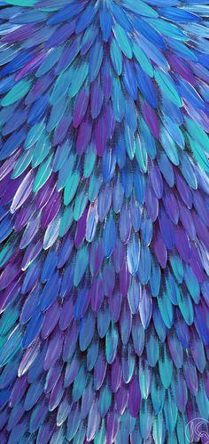 aqua-blue & purple