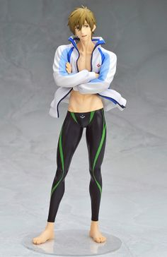 """Limited-time offer! Get FREE shipping worldwide on pre-order items! The free shipping makes it a great buy! Now is your only chance!   Offer Ends: June 12, 2014   """"If you're not there... It's meaningless without you!""""  Makoto Tachibana from the popular anime series Free! is now in 1/8th scale figure form! The trustworthy captain of the Iwatobi High Swim Club and close friend of the protag..."""