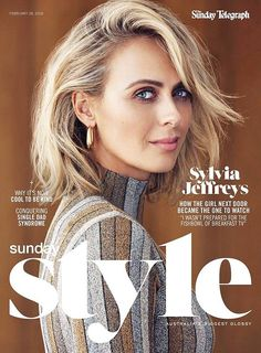 'I've only just started wearing high heels': Sylvia confessed in her interview with Sunday Style that her height had given her grief in the past Beach Bridesmaids, Bridesmaid Hair, Blonde Bobs, Blonde Hair, Lisa Wilkinson, Blue Frock, Beach Party Outfits, Beachwear For Women, Girl Next Door