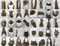 шарф снуд как носить - Поиск в Google