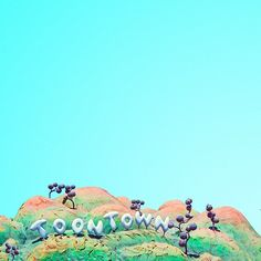 Pin for Later: 43 Little Things You May Not Notice About Disneyland The cartoon hills that greet you in Toontown.