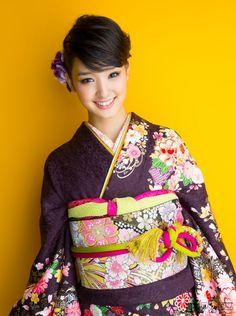Japanese Kimono. 剛力彩芽