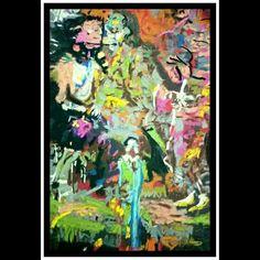 After Jonas burgert  4 , three men sharing a dream (variations on expressionist art after the germans) colored charcoal on a4 Italian archival paper (AFTER series 2017 by kedar Kulkarni Mumbai ) #charcoal #art #painter #artinfo #artist #artnews  #paint #jonasburgert #contemporary #princess #american #german #expressionism #prince  #instagood  #indianart #artistical  #instalove #beautiful  #picoftheday  #dream #sketch #gallery #draw  #instaart #instaartist  #fineart #creative #masterpiece