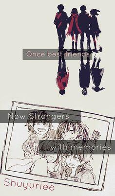 Una vez mejores amigos ahora extraños con recuerdos