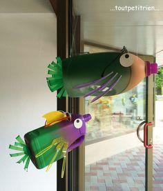 Décors vitrines - Site de toutpetitrien ! - Des idées pour recycler plein de petits riens du tout