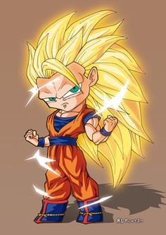 #goku3 #superguerrero #dragonball #dragonballz #supersaiyan #akiratoriyama #kakarotto #anime #manga #Japan #fanart #chibi