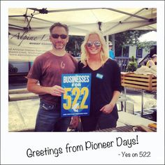 This weekend #AmandaOnTheRoad was at Cle Elum and Roslyn for Pioneer Days. Thanks to Eric from Alpine Lakes Sheep Cheese!
