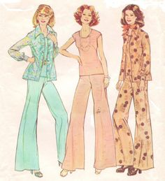 Vintage 70s Simplicity Sewing Pattern 6668 Womens by CloesCloset, $12.00