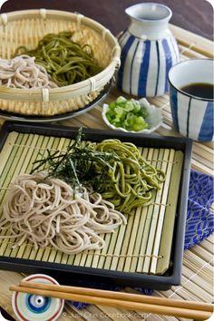 Soba Noodles & Green Tea Soba Noodles