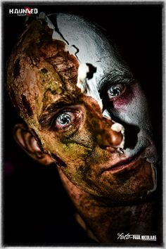 foto : foto-paulnicolaas creatie olv team schminkengrime.nl  by Haunted Night