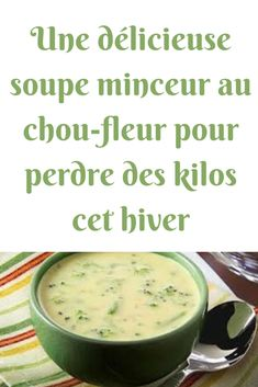 A delicious slimming cauliflower soup to lose pounds this winter esprit & santé Soup Recipes, Keto Recipes, Chicken Recipes, Snack Recipes, Cooking Recipes, Healthy Recipes, Easy Recipes, Winter Soups, Cauliflower Soup
