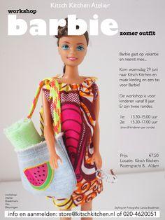 Barbie kids workshop in onze winkel