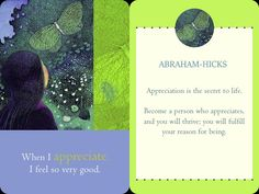 ABRAHAM-HICKS - Well-Being - Card